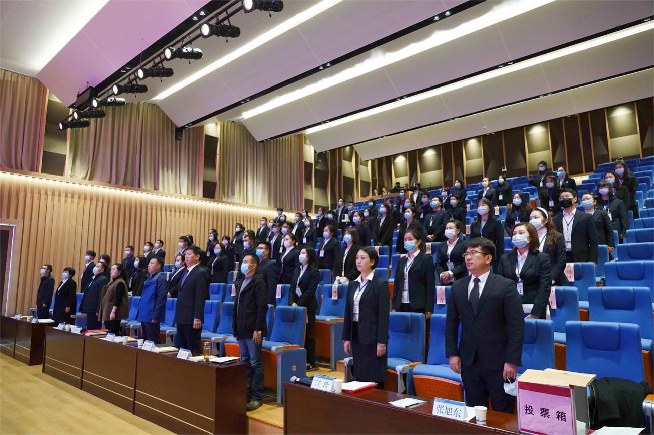 汉江实验学校隆重召开第一届教职工代表大会暨工会第一次代表大会