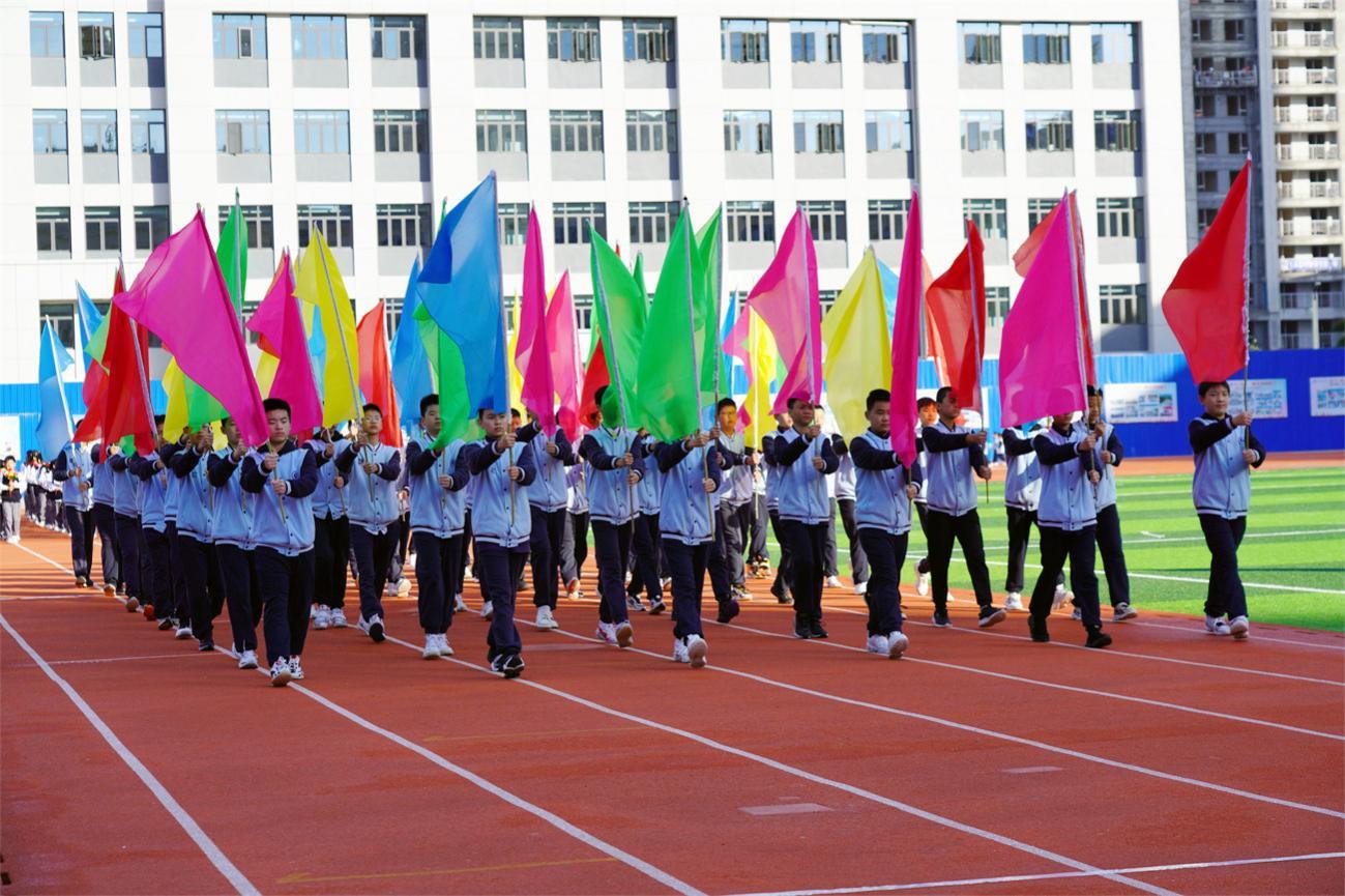 更健康 更全面 更团结 做党的好孩子——汉江实验学校2021年秋季田径运动会圆满举行